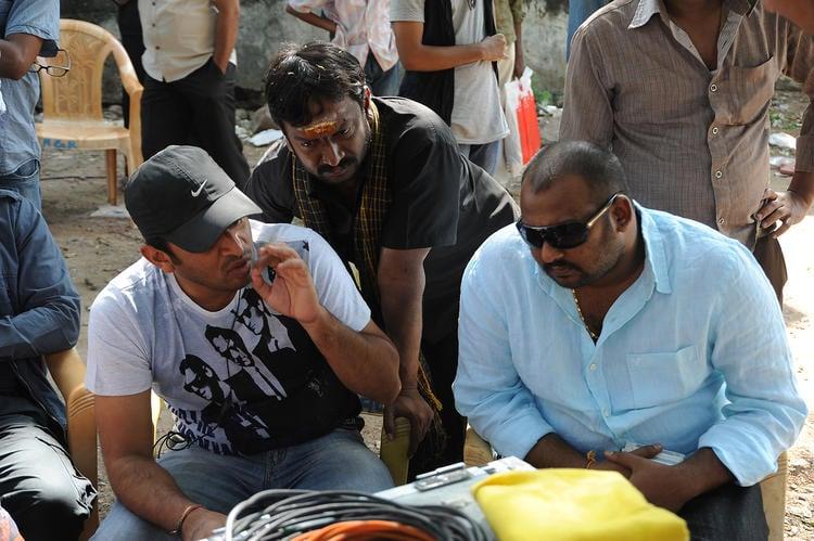 Sudhir Verma Present On The Sets Of Swamy Ra Ra Movie