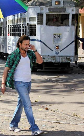 Saif Ali Mawali Look Photo Still From Movie Bullet Raja