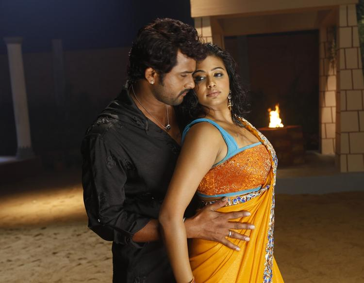 Priyamani And Krishna Hot Still From Tikka Movie