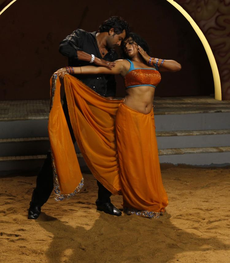 Priyamani And Krishna Latest Spicy Still From Tikka Movie