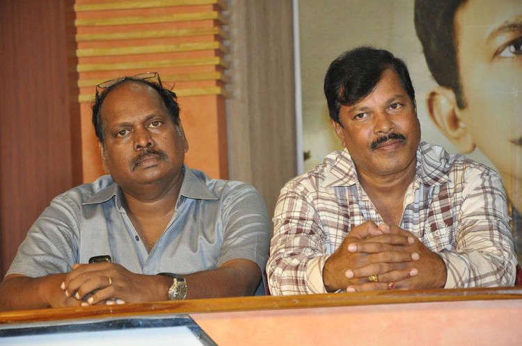 Surender And Parandhama Spotted At Mahankali Movie Release Date Announcement Press Meet