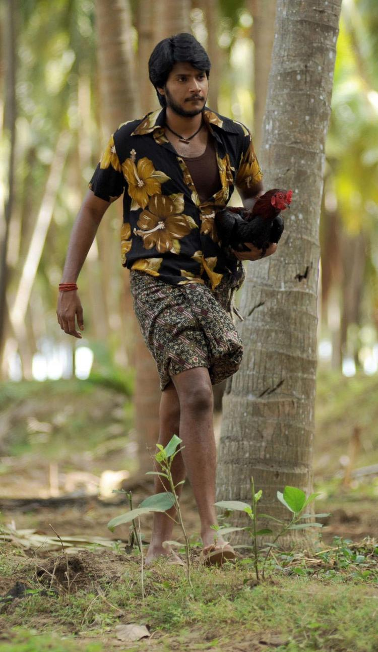 Sundeep With A Cock Photo Stills From Movie Gundello Godari