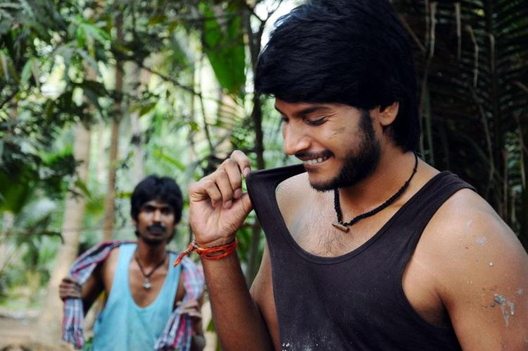 Sundeep Smiling Face Look Photo Stills From Movie Gundello Godari