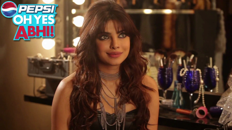 Priyanka Chopra Gorgeous Look Photo Shoot For Pepsi