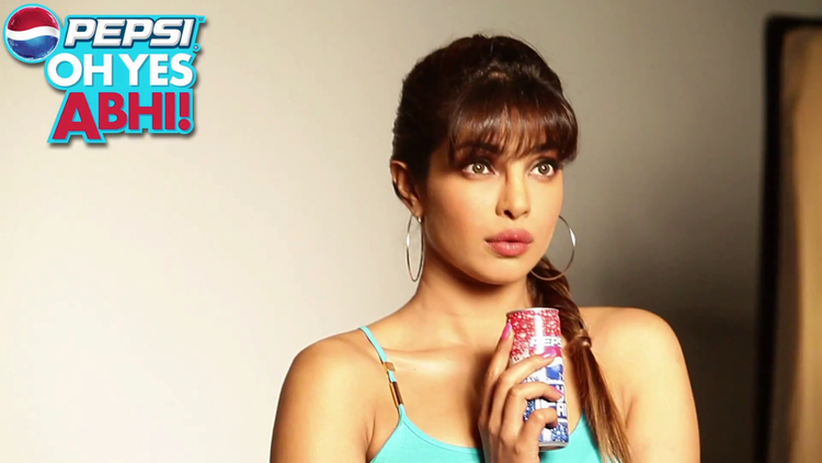 Priyanka Chopra Stunning Look Photo Shoot For Pepsi