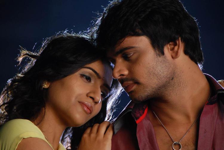 Jaaki And Vidya A Still From Needa Telugu Movie