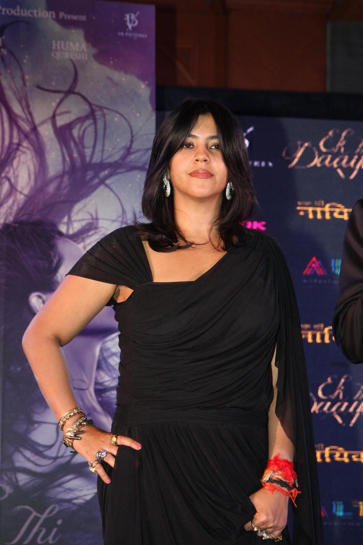 Ekta Strikes A Sexy Pose At The Launch Of Life OK Serial Ek Thi Naayka