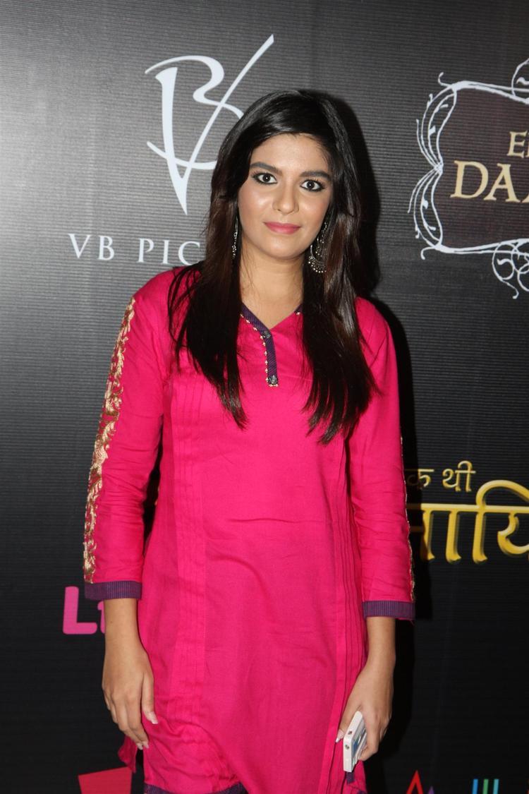 Pooja Strikes A Pose At The Launch Of Life OK Serial Ek Thi Naayka