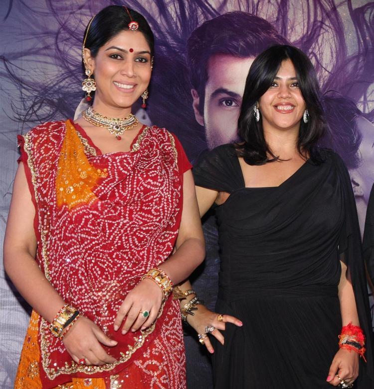 Sakshi And Ekta Attend The Launch Of Life OK Serial Ek Thi Naayka