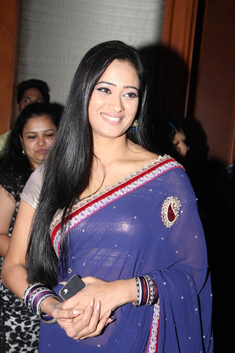 Shweta Looked Gorgeous In Saree At The Launch Of Life OK Serial Ek Thi Naayka