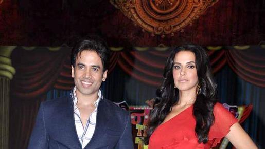 Tusshar Kapoor And Neha Dhupia Graced At Nautanki The Comedy Theatre Show Launch Event