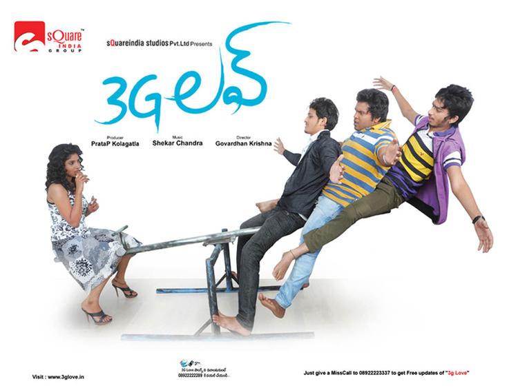 Rahul And Debiraa Latest Photo Wallpaper Of Movie 3G Love