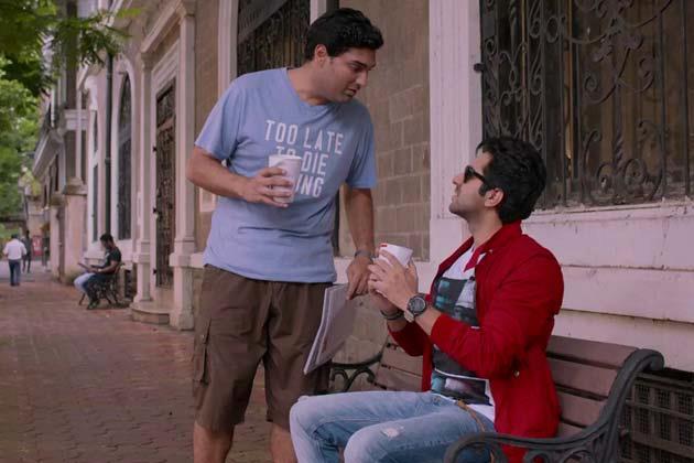 Ayushmann And Kunaal Latest Photo Still From Movie Nautanki Saala