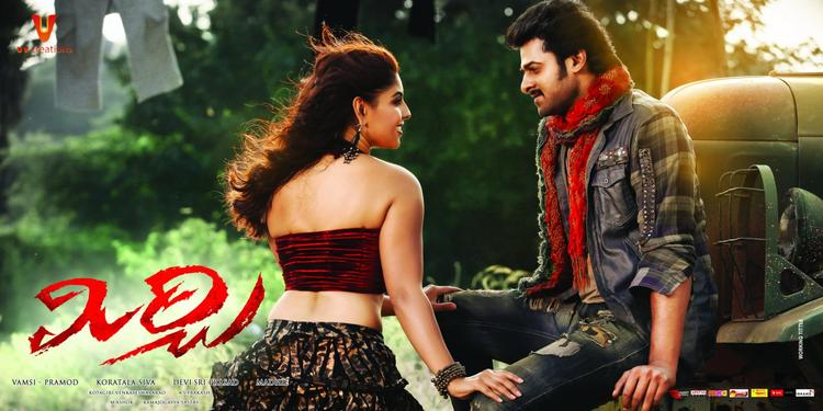 Prabhas And Richa Sizzling Look Photo Wallpaper Of Movie Mirchi