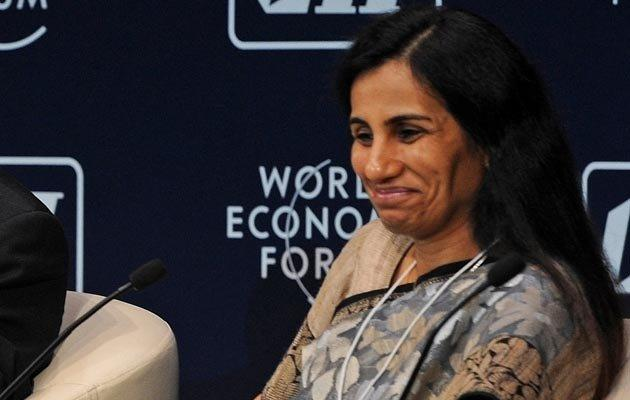 The Managing Director Of ICICI Bank Chanda Kochar Smiling Look Still