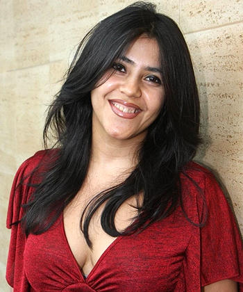 Indian TV And Film Producer Ekta Kapoor Smiling Look Still