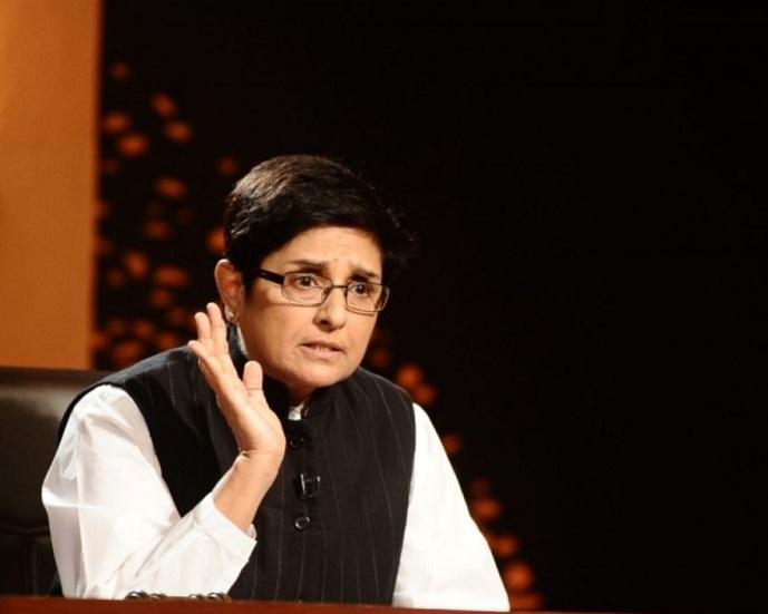 Kiran Bedi The First Woman IPS Officer In India Nice Look Still