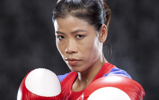Indian Boxer MC Mary Kom Nice Pose Still