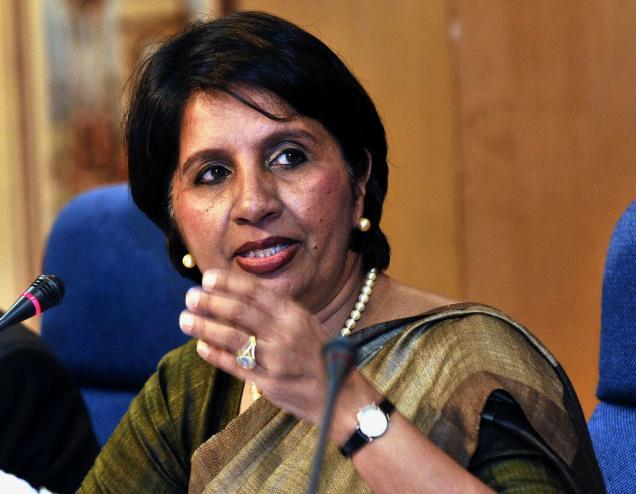 Indian Ambassador To The United States Nirupama Rao Speaking Still