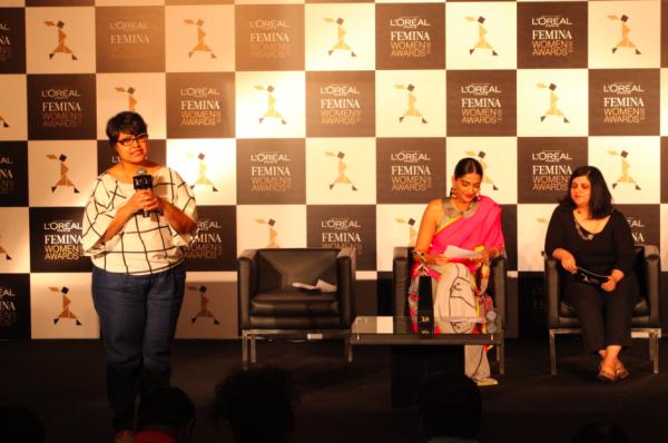 Sonam Kapoor Graced At L'Oreal Paris And Femina Women Awards Press Conference