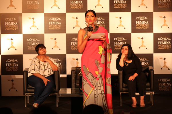 Sonam Kapoor Speaks On At L'Oreal Paris And Femina Women Awards Press Conference