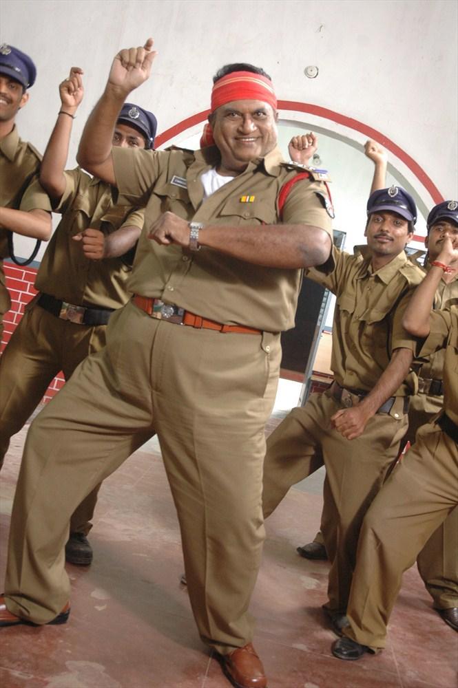 Jayaprakash Reddy Cool Gangnam Style Dance Still From Nutilo Kappalu Telugu Movie