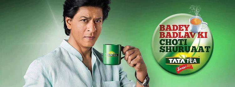 Shahrukh Khan Cool Photo Shoot For Tata Tea Jaago Re TVC Ad