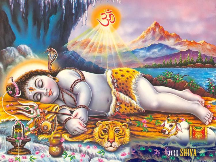 Lord Bal Shiva Nice Look In Maha Shivratri Wallpaper