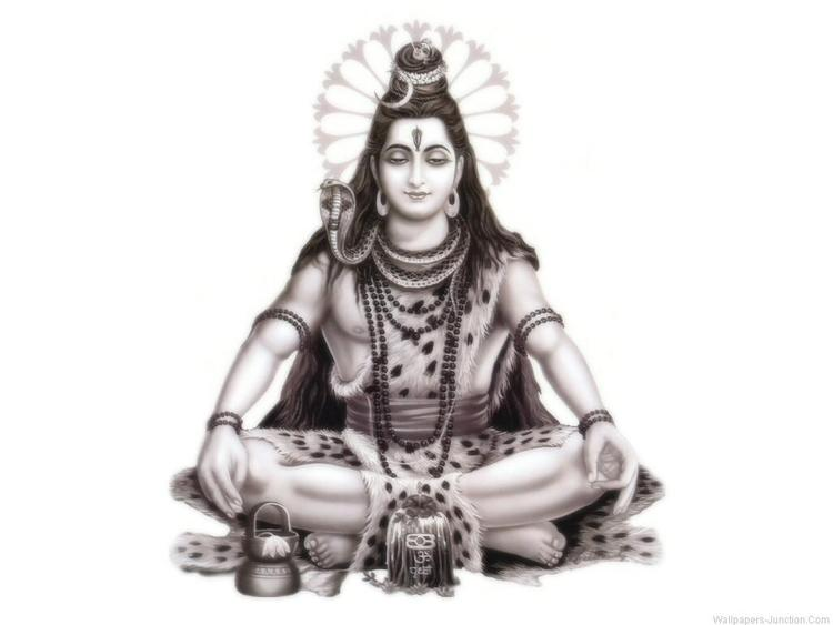 Lord Shiva Yoga Pose In Maha Shivratri  Wallpaper