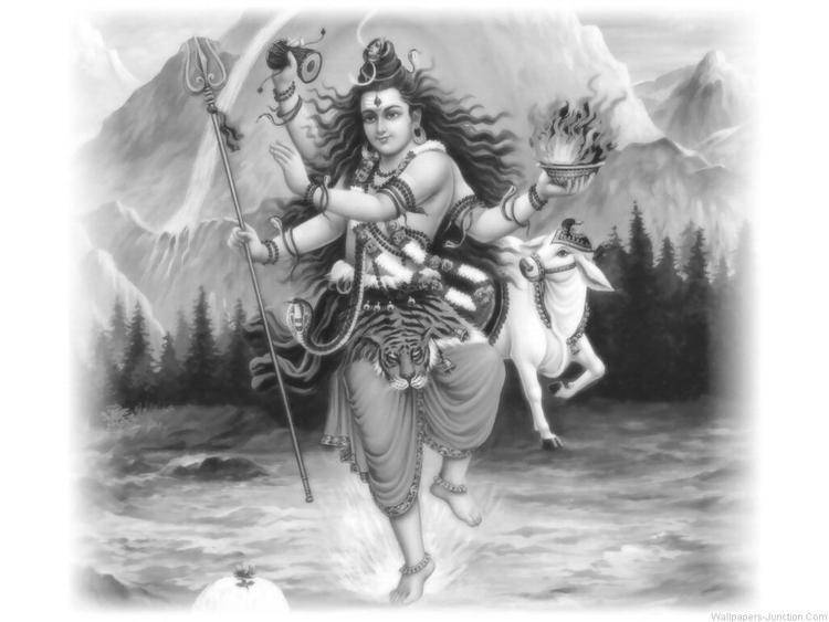 Nataraj, The Dancing Form Of Lord Shiva In Maha Shivratri Wallpaper