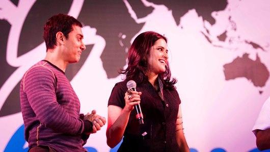 Aamir Khan And Sona Mohapatra Graced At Satyamev Jayate Concert 2013