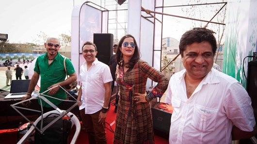 Sona Mohapatra Stylish Look At Satyamev Jayate Concert 2013