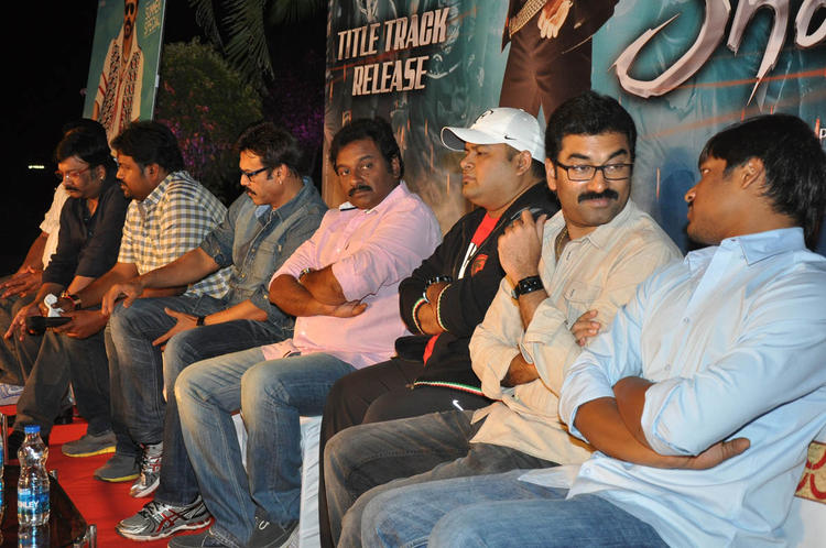 V. V. Vinayak And Venkatesh At Shadow Movie Title Track Release Function