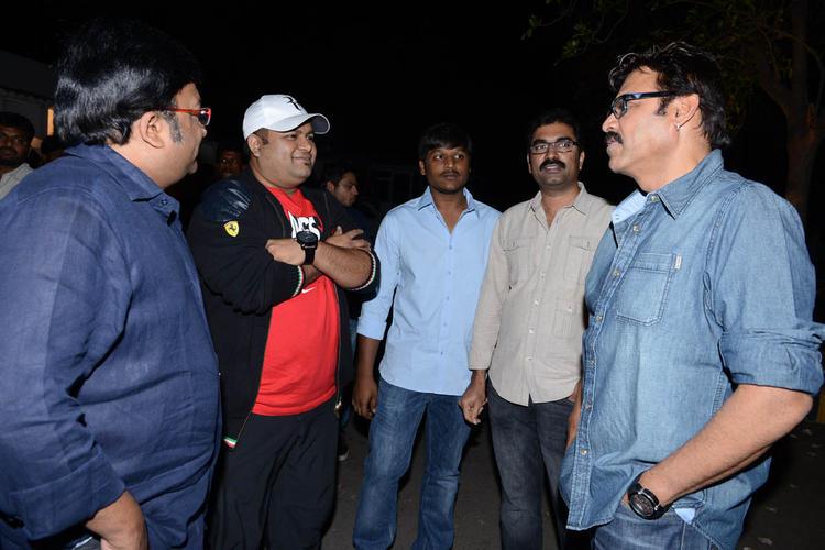 Venkatesh And Kona Venkat At Shadow Movie Title Track Release Function