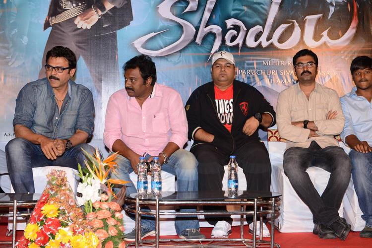 Venkatesh And V. V. Vinayak Present At Shadow Movie Title Track Release Function