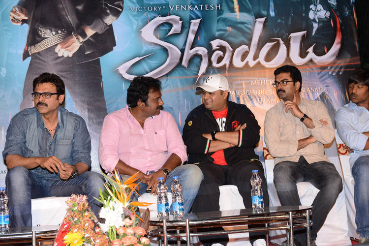 Venkatesh And V. V. Vinayak At Shadow Movie Title Track Release Function