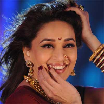 Madhuri Dixit Gorgeous Smiling Photo Still