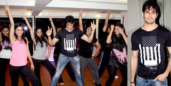 Sidharth Malhotra Rocked At The Strut Dance Academy