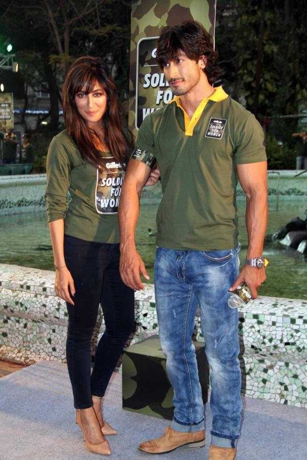 Chitrangada And Vidyut Clicked At Gillette's Soldier For Women Promotional Event