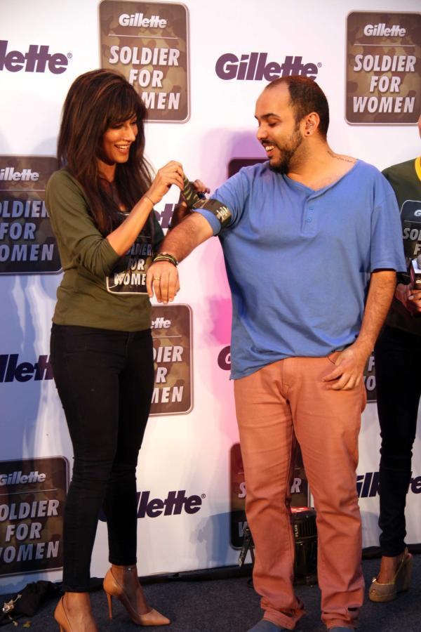 Chitrangada Singh Cool At Gillette's Soldier For Women Promotional Event