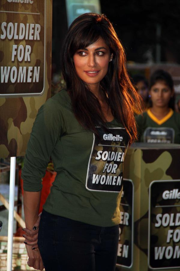 Chitrangada Singh Hot Look At Gillette's Soldier For Women Promotional Event