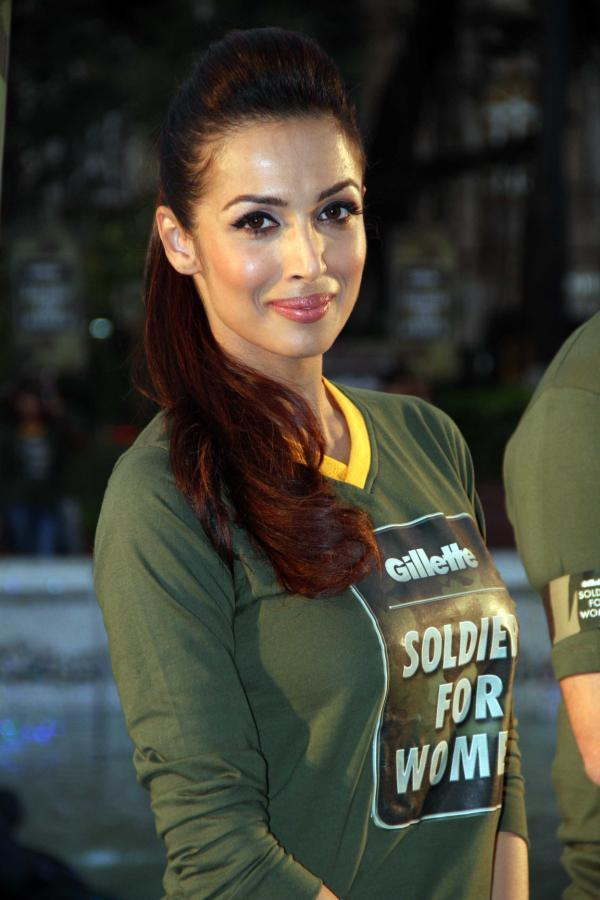 Malaika Arora Khan Dazzles At Gillette's Soldier For Women Promotional Event