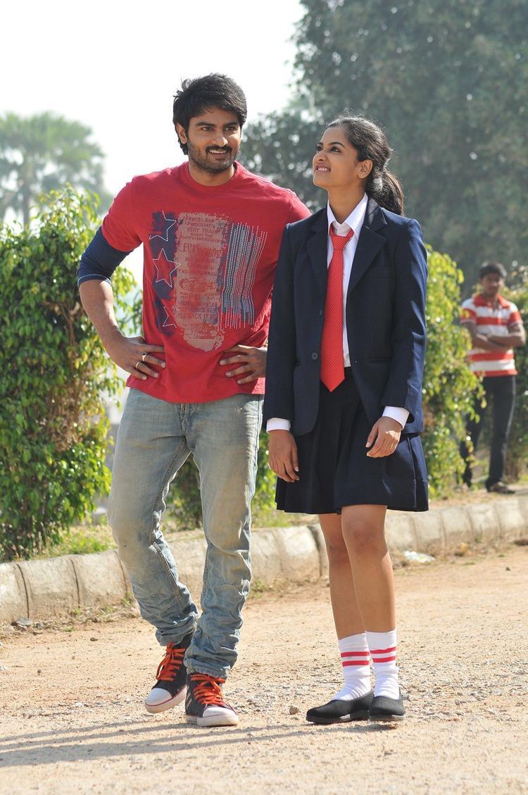Sudhir Babu And Nandita Cute Look Photo Still From Movie Prema Katha Chitram