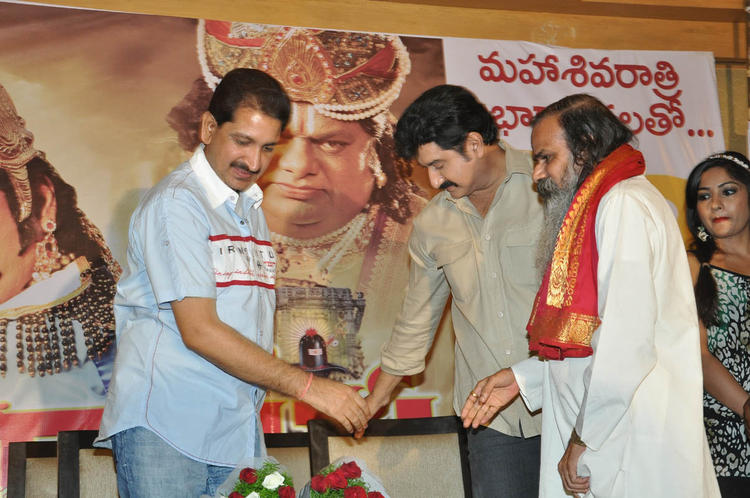 Actor Suman During The Ramappa Movie Audio Release