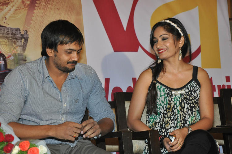 Sairam Shankar And Madhavi Latha Cool Gossip Look At Ramappa Movie Audio Release