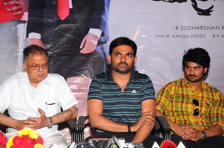 Dasari Maruthi And Sudheer Babu At Prema Katha Chitram Press Meet