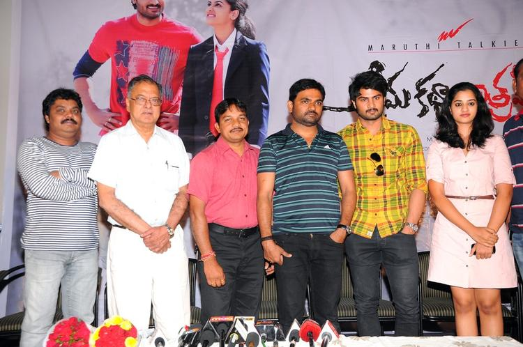 Dasari Maruthi,Sudheer Babu,Nanditha And Others Graced At Prema Katha Chitram Press Meet