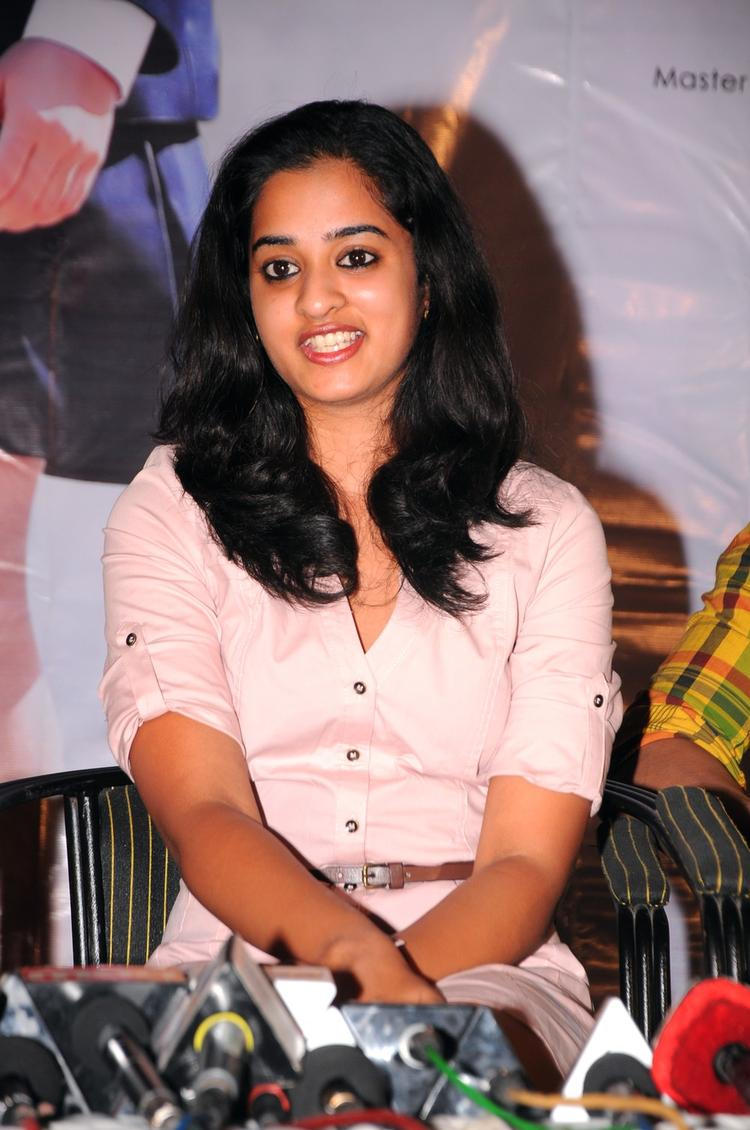 Nanditha Cool Dazzling Look At Prema Katha Chitram Press Meet
