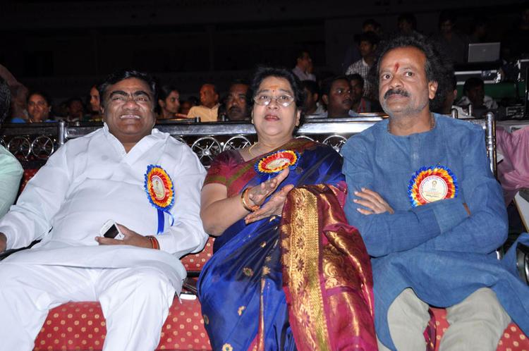 Babu Mohan And Anjali Devi Attend The Dr.Rajendra Prasad Sanmanam Function