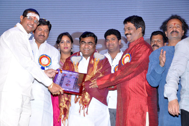 Celeb Guests Are Posed At Dr.Rajendra Prasad Sanmanam Function